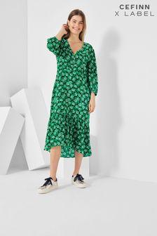 Cefinn x Label Print Tea Dress