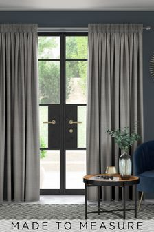 Jasper Fog Grey Made To Measure Curtains