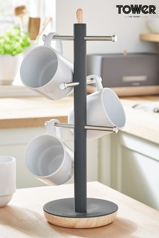 Scandi 6 Cup Mug Tree by Tower