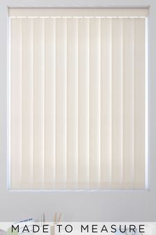 Room Darkening Cream Made To Measure Vertical Blind