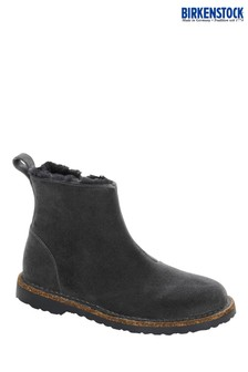 Birkenstock® Grey Shearing Suede Boots