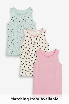 3 Pack Vests (1.5-12yrs)