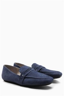 Signature Leather Loafers