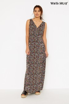 White Stuff Grey Fillipa Maxi Dress