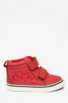 Reflective Star Double Strap Boots (Younger)