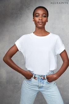 AllSaints White Imogen T-Shirt
