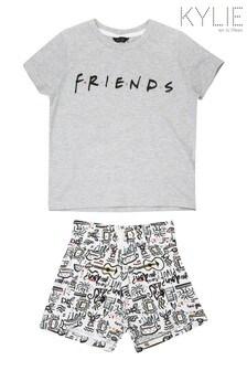 Kylie Grey Friends PJ Short Set