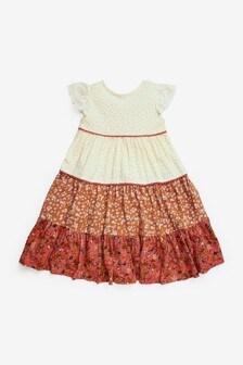 Mix Print Dress (3mths-7yrs)