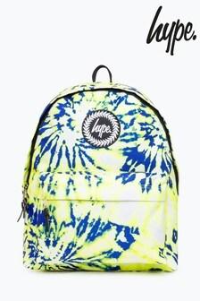 Hype. Yellow Tie Dye Backpack