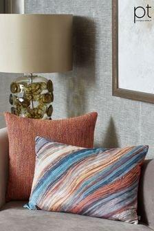 Prestigious Textiles Peacock Heartwood Feather Cushion