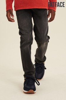 FatFace Grey Wash Slim Jeans