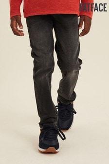 ג'ינס בגזרה צרה של FatFace בצבע אפור