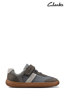 Clarks Grey Flash Step T Shoes