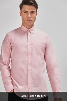 Pink Mens Shirts Pink Shirts For Men Next Official Site