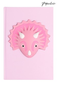 Paperchase Pink Dino Squishy Notebook