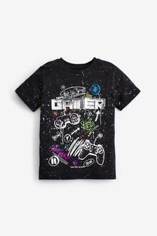 Splat Foil Gamer T-Shirt (3-16yrs)