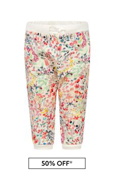 Bonpoint Baby Girls Multi Cotton Joggers
