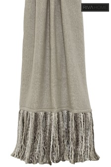 Mala Fringed Throw by Riva Home