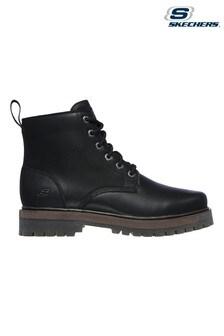 Skechers Black Alley Cats Talgen Boots