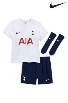 Nike Infant White Tottenham Hotspur 21/22 Home Kit