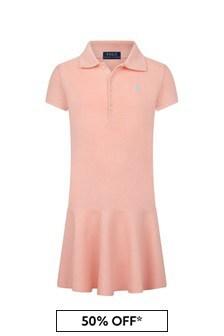 Ralph Lauren Kids Girls Cotton Dress