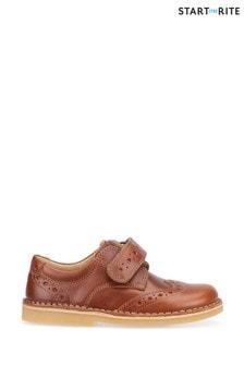 Start-Rite Tan Ludo Shoes