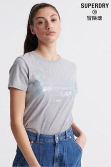 Superdry Grey Mermaid T-Shirt