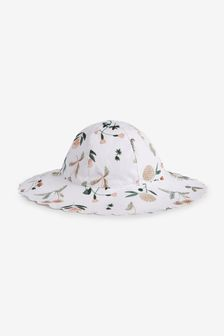 Floral Wide Brim Hat (Younger)