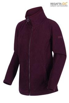 Regatta Purple Fayona Full Zip Fleece Jacket