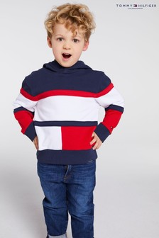 Tommy Hilfiger Kids Multi Cotton Hoodie