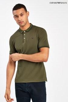 Emporio Armani Khaki Poloshirt