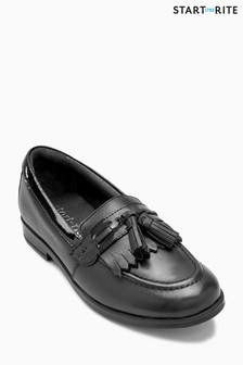 Start-Rite Black Loafer Snr