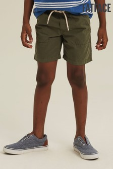 FatFace Green Studland Elasticated Shorts