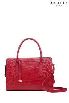 Radley London Liverpool Street Faux Croc Medium Zip Top Multiway Bag