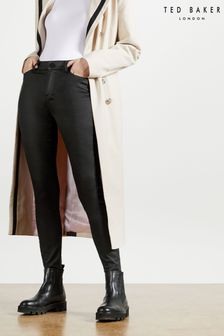 Ted Baker Lethera Wet Look Skinny Jeans