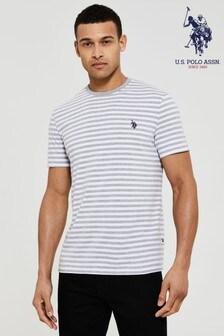U.S. Polo Assn Greypencil Stripe T-Shirt