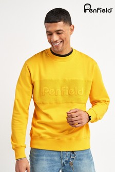 Penfield Yellow Thorndike Sweater