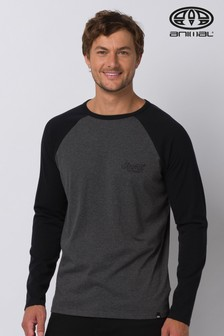 Animal Grey Ocana Long Sleeve Graphic T-Shirt