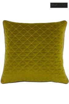 Riva Home Green Quartz Cushion