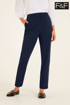 F&F Navy Naples Trousers