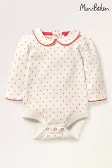 Mini Boden Red Collared Body
