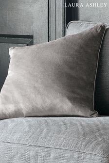 Charcoal Nigella Cushion