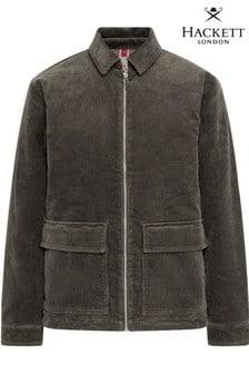 Hackett Green HKT Corduroy Zip Jacket
