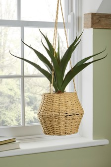 Artificial Plant in Hanging Basket