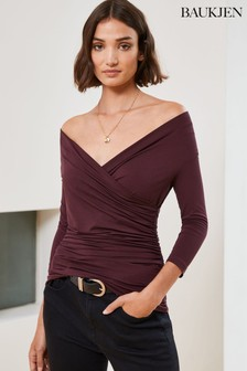Baukjen Purple Pamela Top