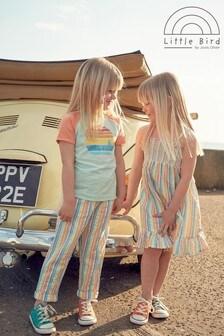 Little Bird Unisex Rainbow Stripe Trousers