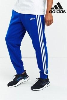 adidas Essentials 3 Stripe Fleece Joggers