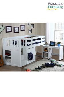 Neutron Mid Sleeper Complete Package By The Children's Furniture Company
