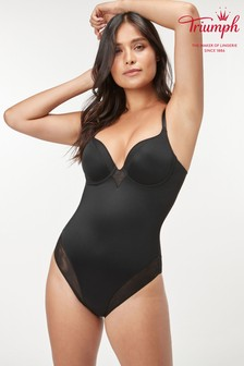 Triumph Black True Shape Sensation Bodysuit