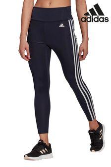 adidas 3 Stripe High Rise 7/8 Leggings